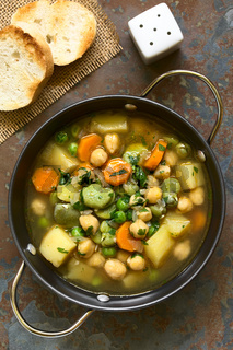 Chickpea Vegetable Soup