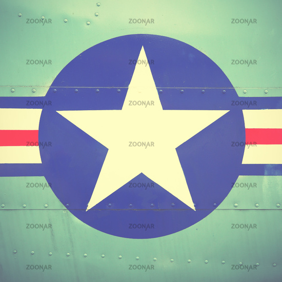 US Air Force sign