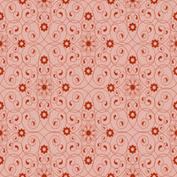 Seamless  with  red flowers