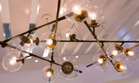 fancy electrical ceiling lamp