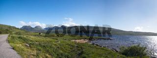 Coigach Roadside Panorama