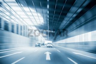 city expressway traffic background