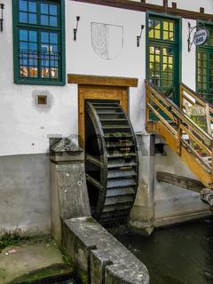 Watermill in Cesky Krumlov