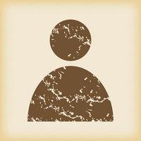Grungy user icon