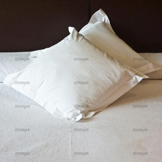 Sweet Dreams embroidered on pillows