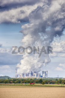Emissions coal power plant
