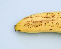 banana with spotted peel