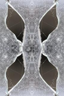 schlankes Glas