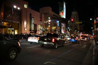 Straßenverkehr am Hollywood Boulevard