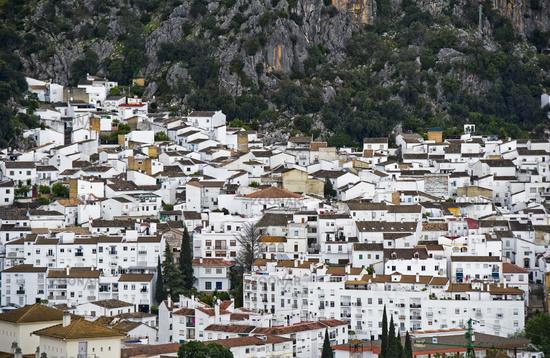 White Town, pueblo blanco, near Ronda, Spain