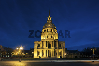 Chapel Saint Louis des Invalides, burial place of Napoleon Bonaparte, Paris, Ile-de-france, France