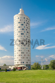 New tall round shape building