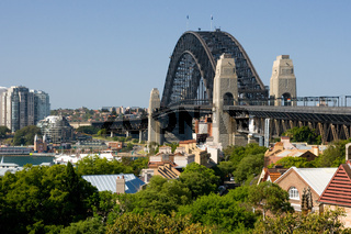 View of Sydney Harbour from Observatory Park