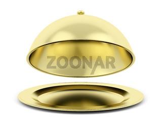 Gold cloche