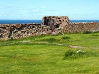 Part of Hammershus castle ruins on Bornholm 1