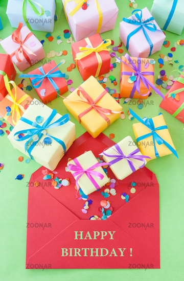 Small colorful gifts