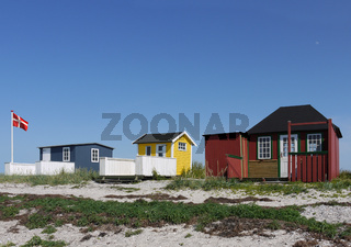 Strandhütten in Ærøskøbing