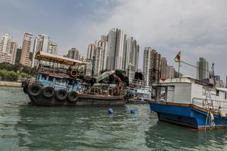 HONGKONG ABERDEEN HAUSSCHIFFE