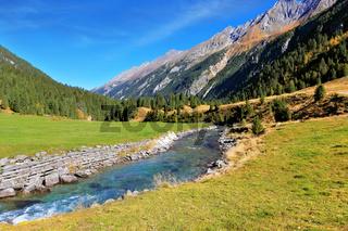 National Park Krimml Waterfalls