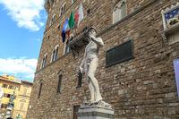 Sculptures in Piazza Della Signoria