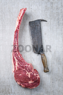Dry Aged Tomohawk Steak