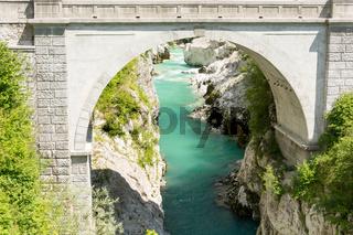 Napoleon bridge in Kobarid