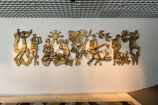 Relief im Foyer des Alten Thermalsolebades in Bad Soden