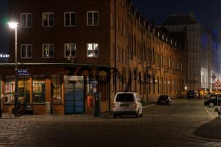 Lagerhäuser in der Speicherstadt, Hamburg