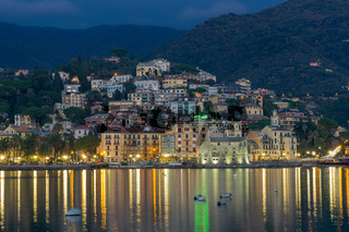 Nightview of Rapallo