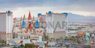 LAS VEGAS - MAY 13 The Excalibur hotel and Casino
