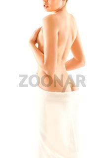 Slim woman body