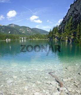 Seegrund und über den Pragser Wildsee