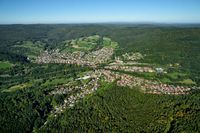 Partenstein in the district of Main Spessart