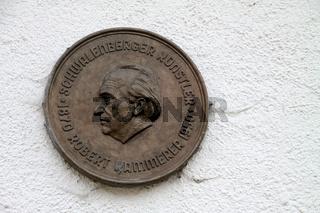Relief des Künstlers Robert Kämmerer in Schwalenberg