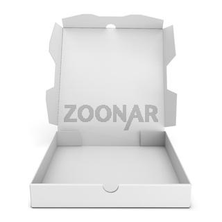 3d open pizza box