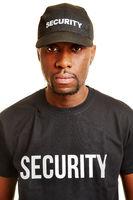 Mann vom Sicherheitsdienst