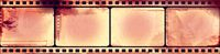 Grunge film frame with space for your text or image