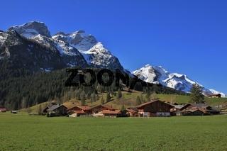 Springtime in Gsteig bei Gstaad