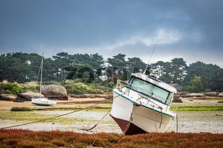 Hafen in der Bretagne