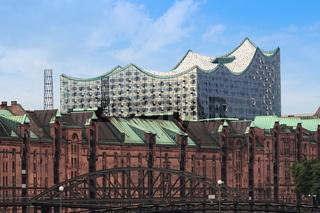 Hamburg - Elbphilharmonie und Speicherstadt