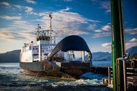 landing ferryin Norway