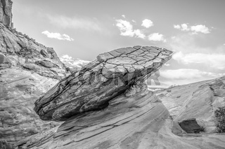 Hoodoo in Page AZ near Lake Powell