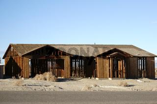 Verlassenes Haus in Salton City