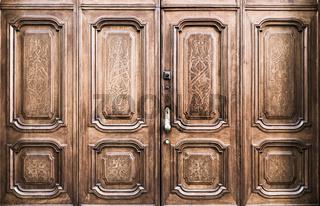Freemasonry door entrance