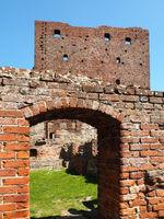 At the Hammershus ruins