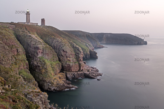 Lighthouse Cap Frehel, Bretagne, France, Europe