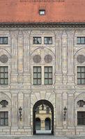 Emperor's Courtyard in the Munich Resi