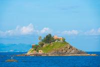 smalltropical asian island