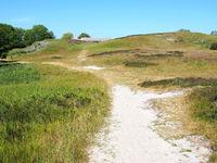 Path to cafe Slusegaard on Bornholm