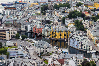 Alesund, Norwegen, Norway